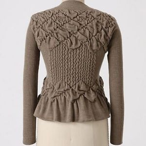 Anthropologie Sparrow Dimpled Cardigan